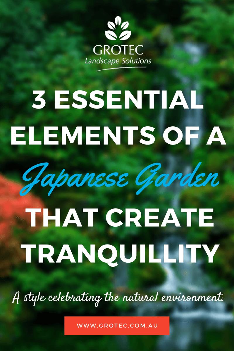 Japanese Garden Design In Australia Grotec Landscape Solutions